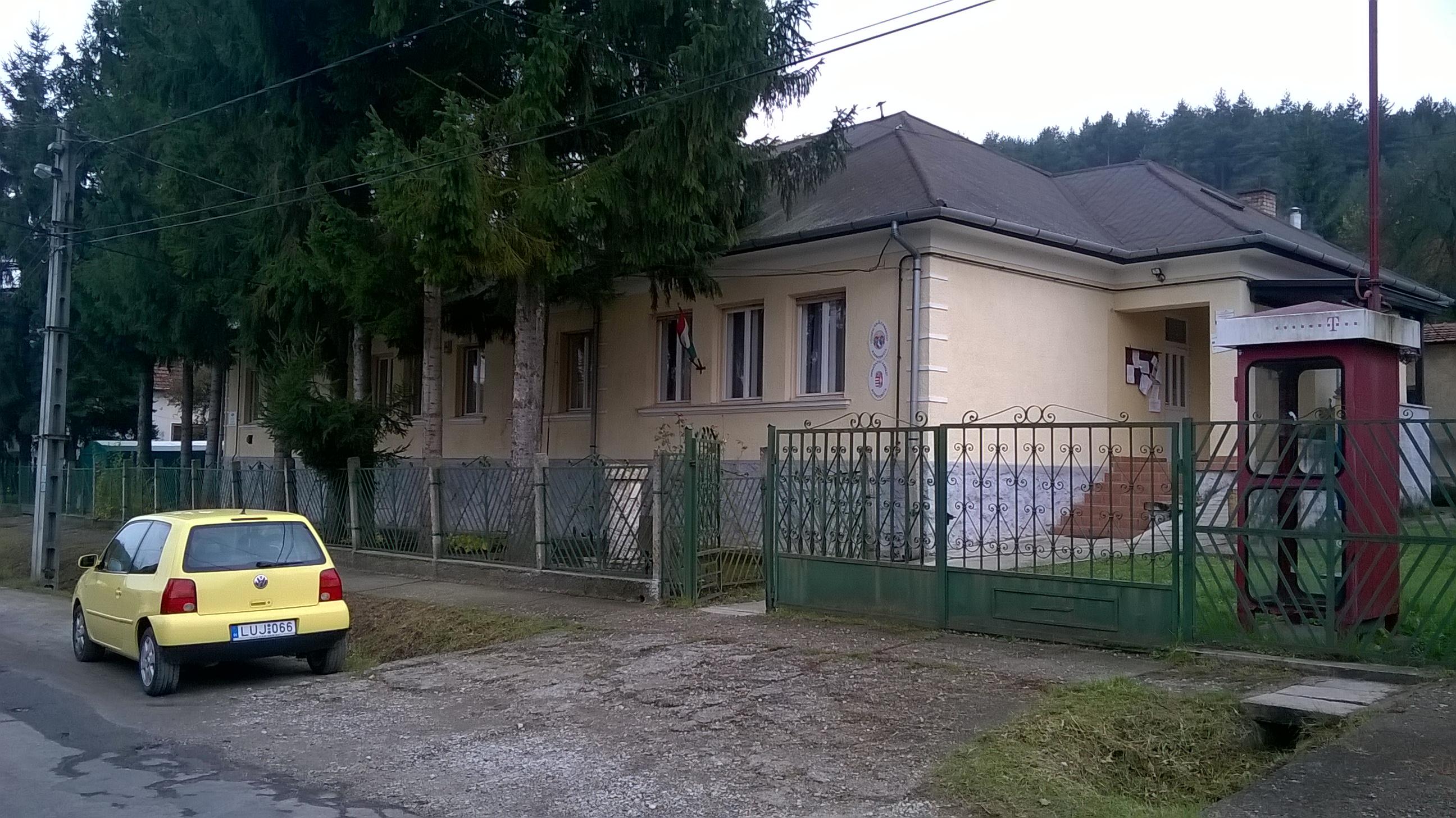 A Polgármesteri Hivatal épülete
